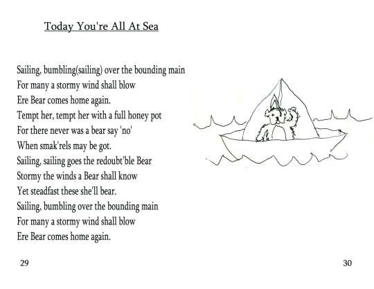 "No. 12  ""Today You're All At Sea"""