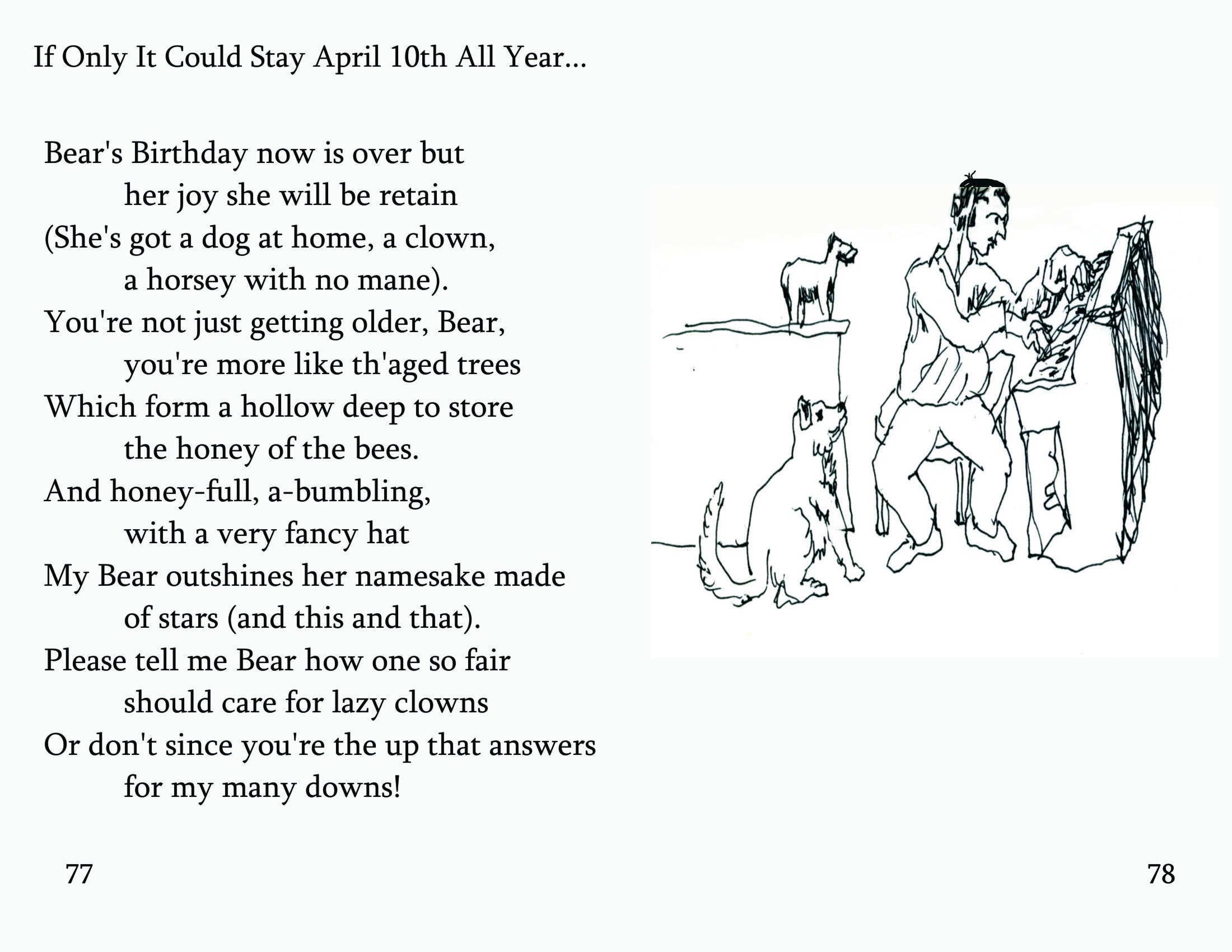 No 26 If Only It Could Be April 10th All Year Bearly Bliss