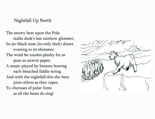 "No. 2  ""Nightfall Up North"""