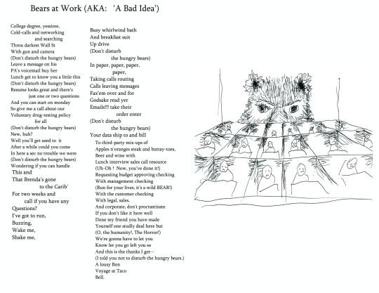 Bears At Work (AKA: A Bad Idea)