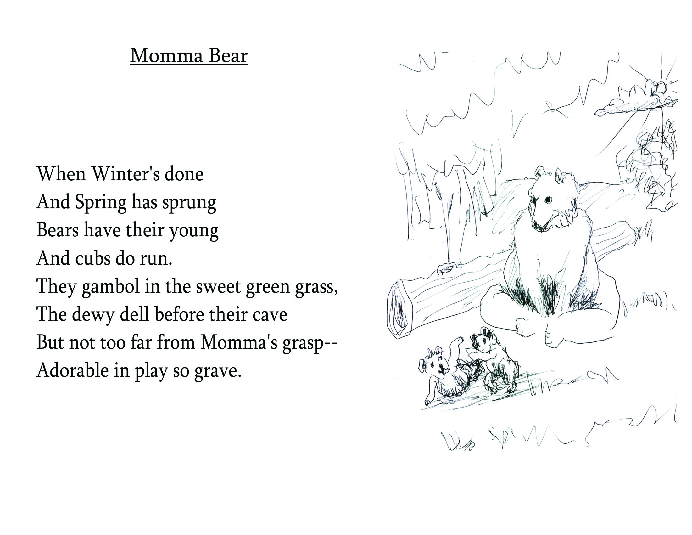 Bearly Bliss | A 30th wedding anniv-gift of 30 illustrd ...