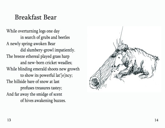 "No. 6  ""Breakfast Bear""  (Page 1)"