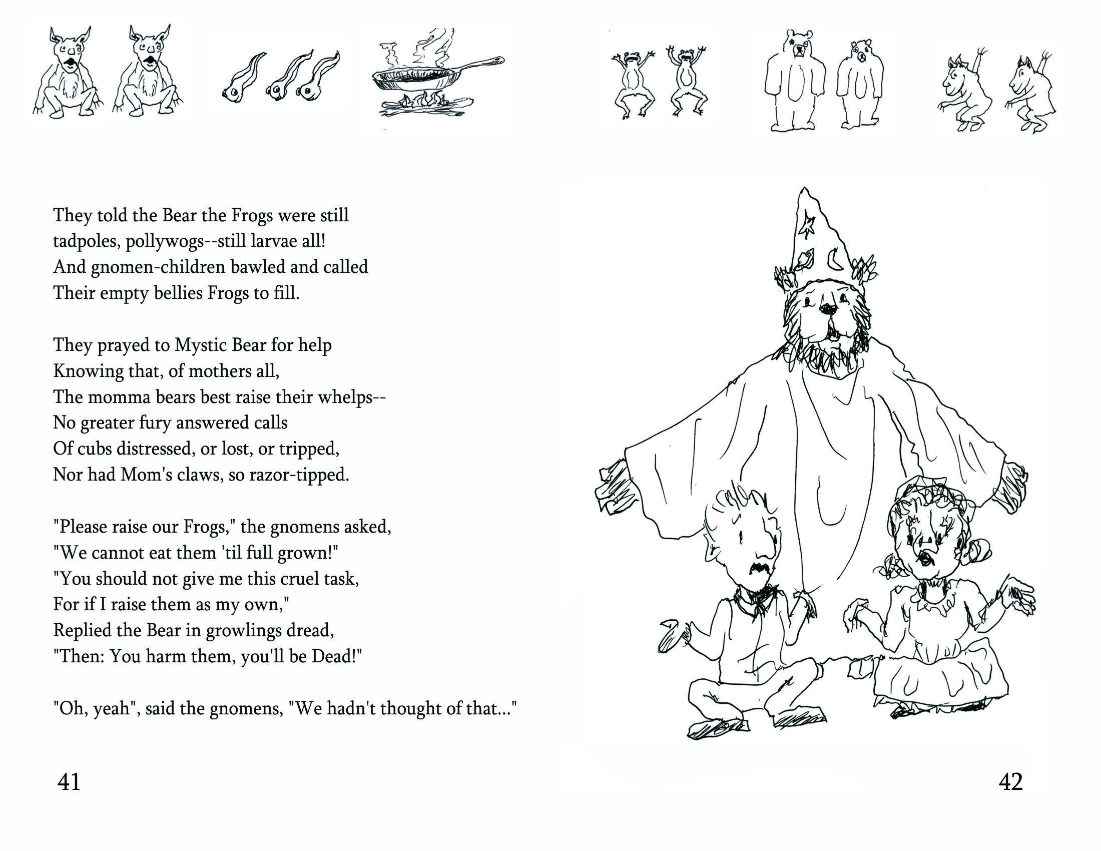 Bearly Bliss | A 30th wedding anniv-gift of 30 illustrd poems writ ...
