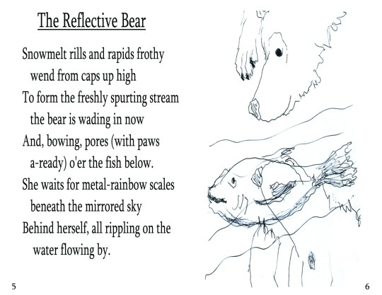 "No. 3  ""The Reflective Bear"""