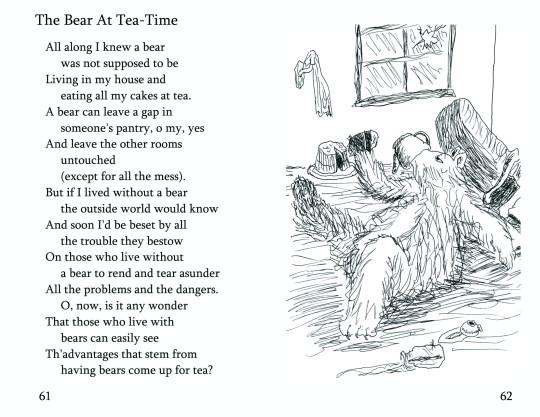 """No. 20 """"The Bear At Tea-Time"""""""