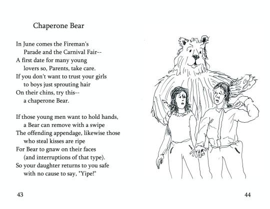 "No. 18  ""Chaperone Bear""  (Page 1)"