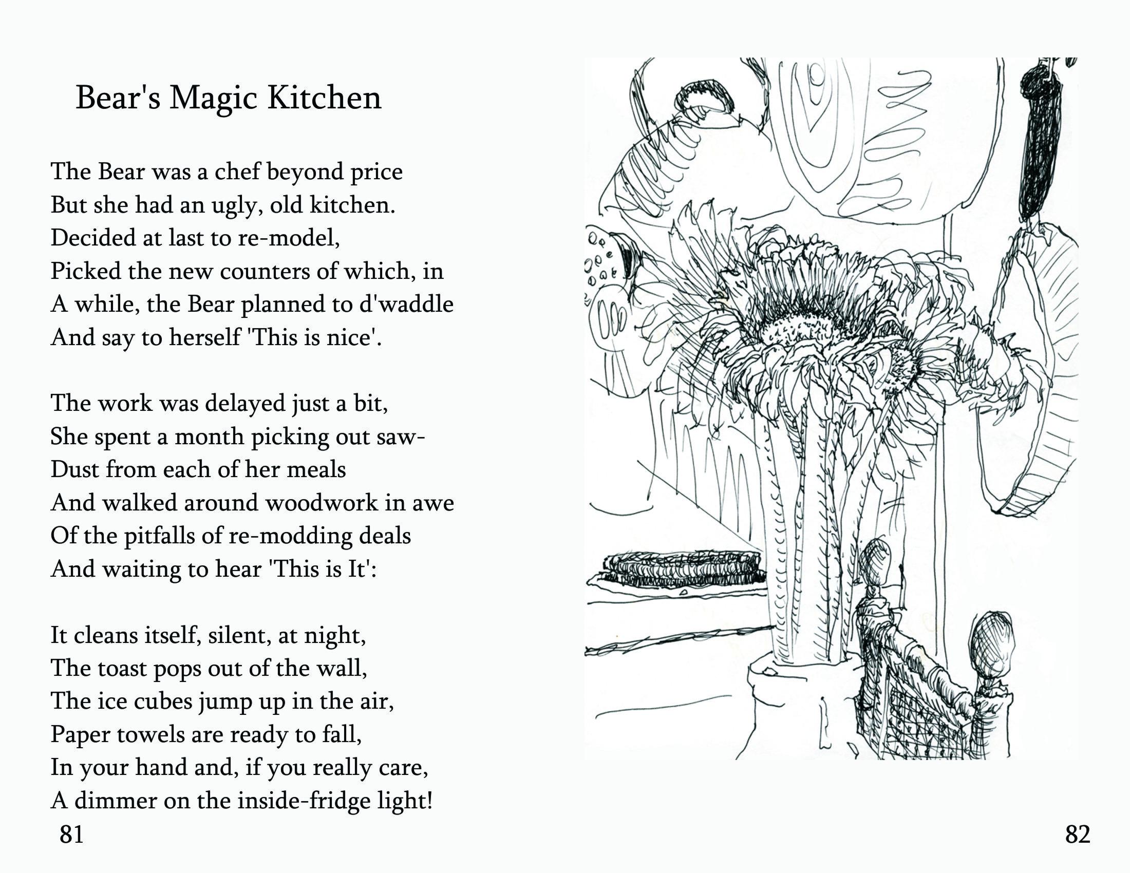 "No. 28 ""Bear\'s Magic Kitchen"" | Bearly Bliss"