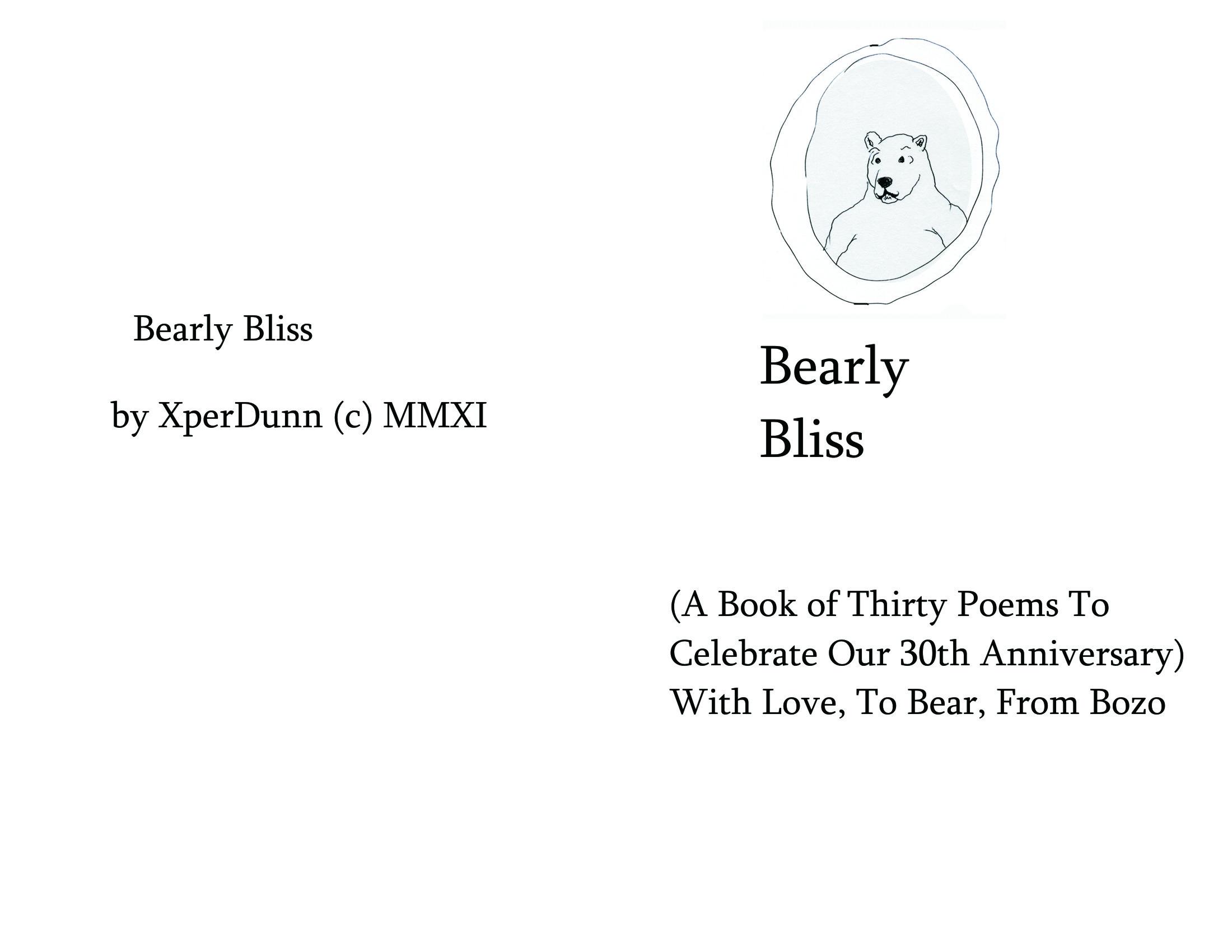 Dirty 30 Poems: A 30th Wedding Anniv-gift Of 30 Illustrd
